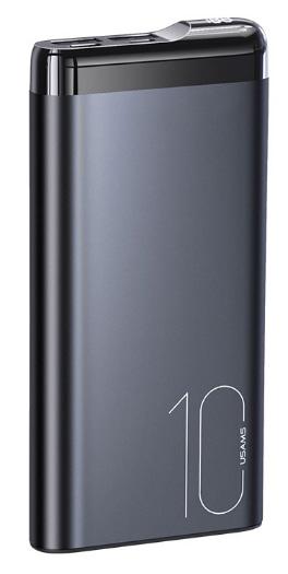 Внешний аккумулятор USAMS US-CD148 PB55 Dual USB Digital Display Power Bank 10000mAh купить оптом в интернет-магазине Optax.ru