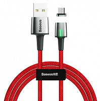 Кабель магнитный Baseus Zinc Magnetic Cable USB - Micro USB 2.4A, 1м (CAMXC-A01, CAMXC-A05, CAMXC-A09)