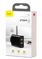 Сетевое зарядное устройство Baseus Speed PPS Quick charger 60W (CCFS-G01) 2 x USB, Type-C
