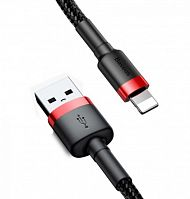 Кабель Baseus Cafule Cable for iP USB - Lightning (CALKLF-C19, CALKLF-CV1) 2м 1.5A