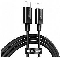 Кабель Baseus Xiaobai series fast charging Cable Type-C 100W (20V/5A) 1.5m (CATSW-D01, CATSW-D02)