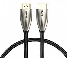 Кабель Baseus Horizontal 4K HDMI Male To 4K HDMI Male Adapter Cable (CADSP-A01) 1m
