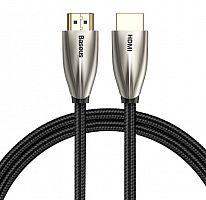 Кабель Baseus Horizontal 4K HDMI Male To 4K HDMI Male Adapter Cable (CADSP-B01) 2m