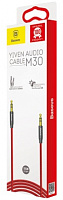 Кабель AUX Baseus Yiven Audio Cable 1м M30 (CAM30-BS1, CAM30-B91)