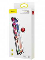 Защитное стекло Baseus Rigid-edge curved-screen Tempered Glass Screen Protector для iPhone X, XS (SGAPIPHX-KF01) Anti-Bluelight 0.3mm