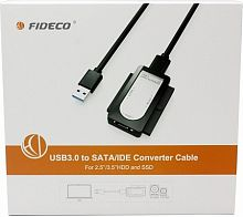 Конвертер FIDECO USB 3.0 to SATA / IDE Converter Cable