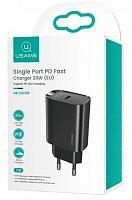Сетевое зарядное устройство Usams US-CC131 T39 Type-C Single Port PD Fast Charger 20W EU