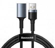 Кабель Baseus Cafule Cable USB3.0 Male TO USB3.0 Female 2A 1m (CADKLF-B0G)