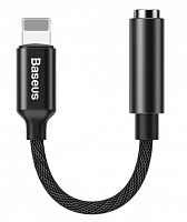 Адаптер Baseus L3.5 iP Male to 3.5mm Female Adapter (CALL3-01, CALL3-02)