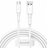 Кабель Baseus Mini White Cable USB - Type-C, 3A, 1м (CATSW-02)
