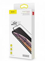 Защитное стекло Baseus Full Screen Curved Tempered Glass Screen Protector 0.3мм для iPhone Xs Max (SGAPIPH65-WB01) Anti-Bluelight