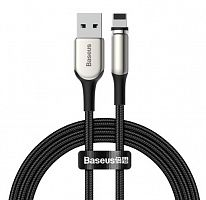 Магнитный кабель Baseus Zinc Magnetic Cable USB - Lightning 1.5A 2м (CALXC-I01)