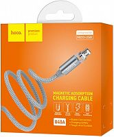 Кабель магнитный Hoco U40A Magnetic Adsorption Charging Cable Micro 1м