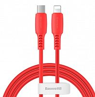 Кабель Baseus Colorful Cable Type-C For iP 18W 1.2m (CATLDC-04, CATLDC-05, CATLDC-06, CATLDC-09, CATLDC-0Y)