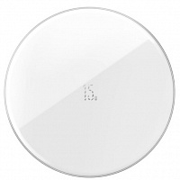 Беспроводное зарядное устройство Baseus Simple Wireless Charger Updated Version 15W (WXJK-B01, WXJK-B02,  WXJK-BA02)