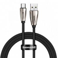 Кабель Baseus Aita Intelligent Changing Light Cable USB For Type-C 3A (CATAT-B01, CATAT-B09) 1м