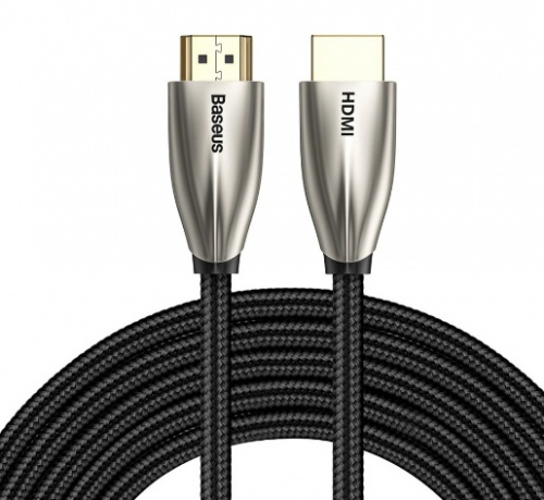 Кабель Baseus Horizontal 4K HDMI Male To 4K HDMI Male Adapter Cable (CADSP-D01) 5m