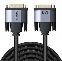 Кабель Baseus Enjoyment Series DVI Male To DVI Male bidirectional Adapter Cable 1m (CAKSX-Q0G)